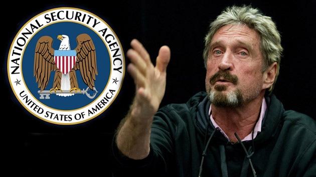 McAfee desarrolla un dispositivo para 'bloquear' el espionaje de la NSA