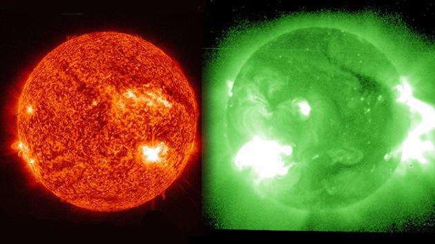 VIDEO: explosión solar provoca una tormenta geomagnética récord