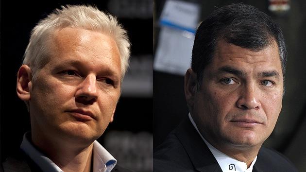 Ecuador otorga asilo diplomático a Julian Assange