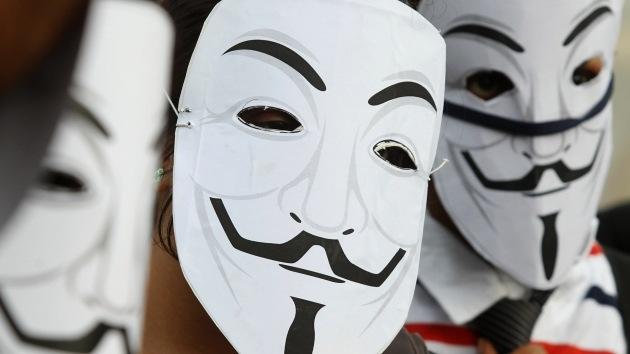 Anonymous ataca la página web de la policía argentina