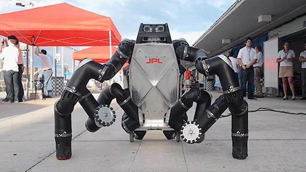Video: Un robot araña-chimpancé de la NASA podría salvar millones de vidas