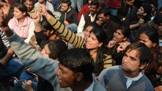 Fotos: Protestas en la India contra la violencia sexual