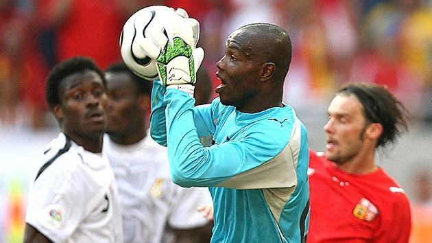 Su mejor atajada: portero de Ghana rechazó un soborno en Alemania 2006