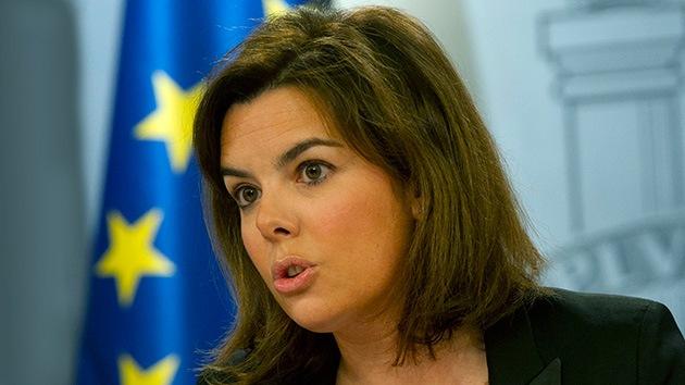 "Vicepresidenta de España asegura que Morales ""pudo aterrizar sin problemas"""
