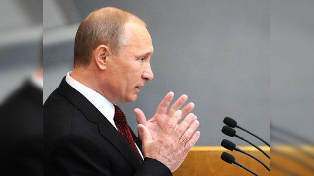"""Putin: """"Rusia ha superado todas las consecuencias de la crisis de 2008"""""""