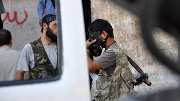 Escondite de armas químicas: ¿qué prepara la oposición siria?