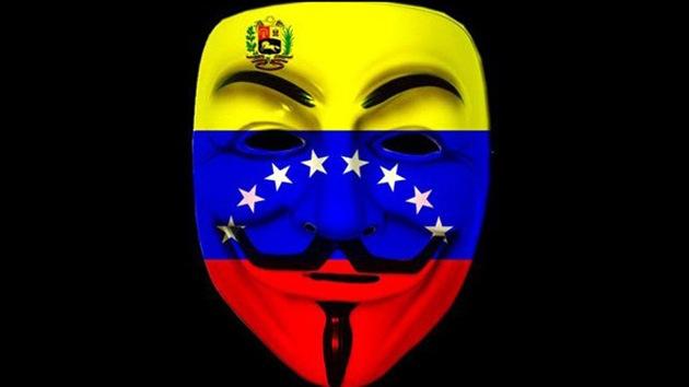 Anonymous Venezuela amenaza con hacer caer las páginas del Gobierno de Chávez
