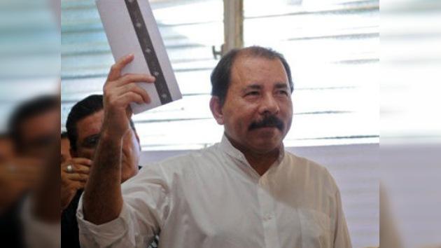 Daniel Ortega, virtual ganador de las presidenciales en Nicaragua