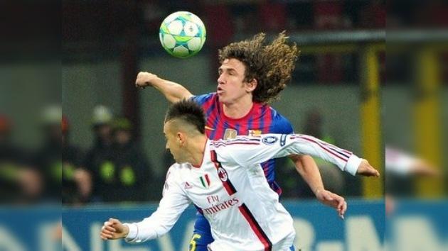 Champions: Barcelona y Milan, en el duelo más atractivo y abierto de cuartos
