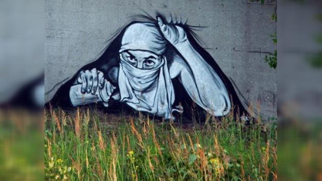 El arte urbano en Rusia esconde el rostro y expone sus obras