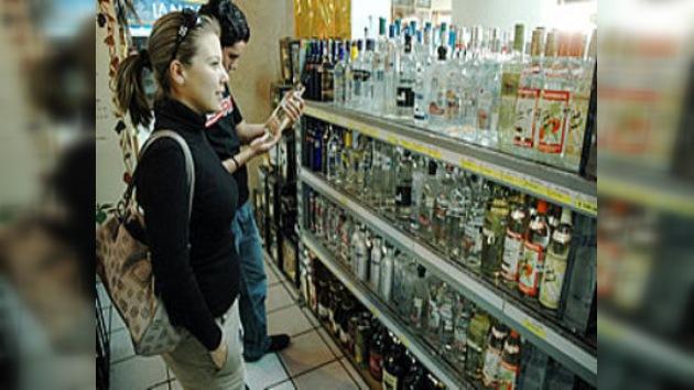 Vodka en pastillas, una realidad en Rusia
