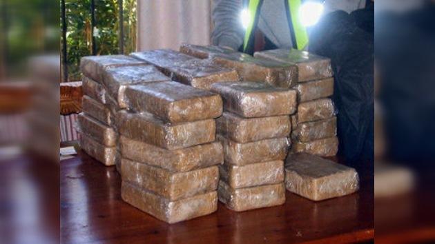 Arrestaron en España a una banda de narcos con 102 kilos de cocaína