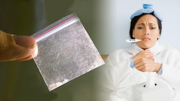 """A metanfetamina, a gripe """"arma mortal"""" nova"""