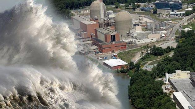 Huracán Sandy golpea a las centrales nucleares de EE.UU.