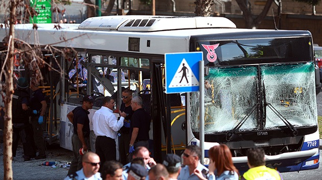 Israel ha arrestado a los sospechosos de la explosión del bus en Tel Aviv