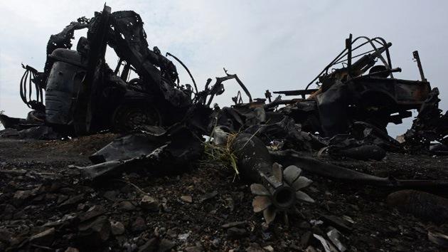 Las autodefensas derriban un avión del Ejército en Kramatorsk