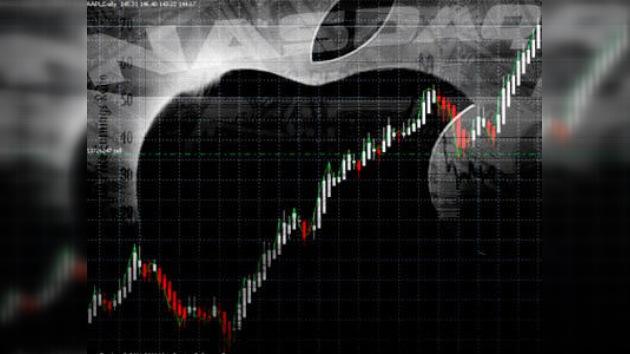 Las acciones de Apple por las nubes gracias al iPhone 4S