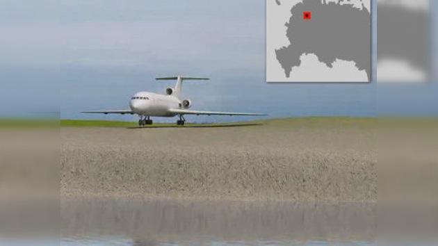 Vuelos experimentales demuestran el error del piloto del avión del Lokomotiv