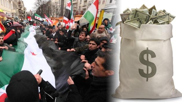 Arabia Saudita dona 100 millones de dólares a los rebeldes sirios