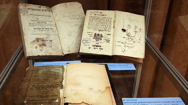 Rusia y EE.UU. se enfrentan por un archivo de documentos judíos históricos