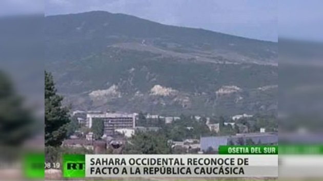 Sahara Occidental discute independencia de Osetia del Sur