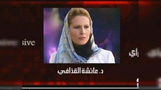 Aisha Gaddafi exige un informe sobre el homicidio de su padre y su hermano