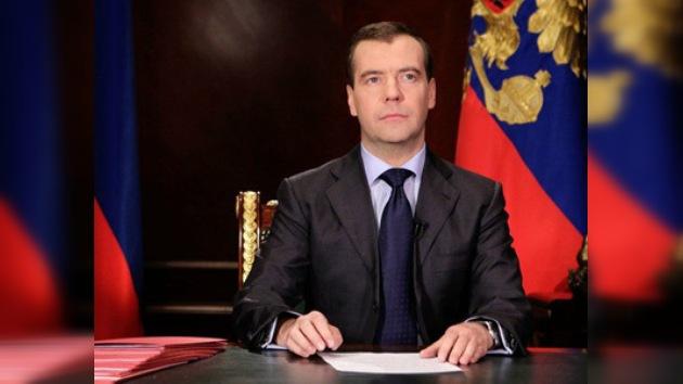 El presidente Medvédev pide a los rusos que acudan a las urnas