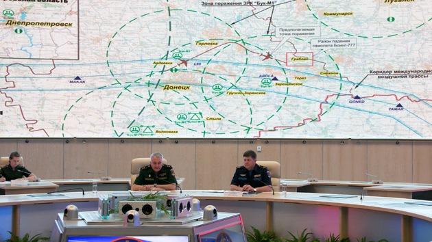 MH17: Ministerio de Defensa ruso plantea preguntas a los servicios secretos de EE.UU.
