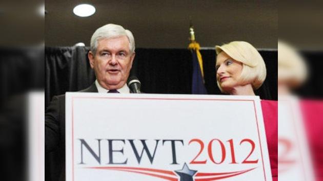 Newt Gingrich, el segundo republicano que se retira de la carrera presidencial de EE. UU.