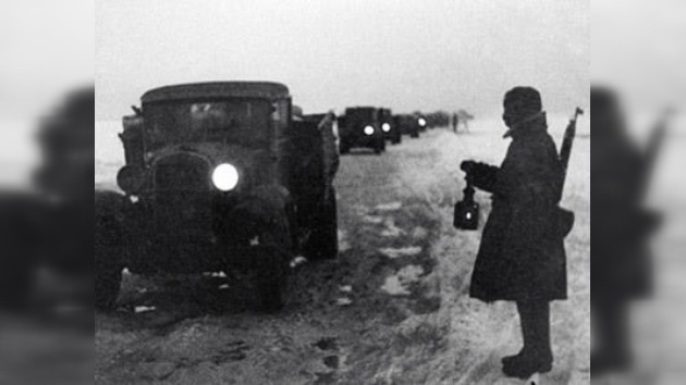 Se cumplen 70 años del 'Camino a la Vida', primera 'grieta' del cerco de Leningrado