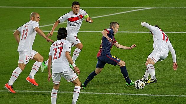 El 'tiqui-taca' no es solo posesión: El estilo del Barça y de España exige un gran físico