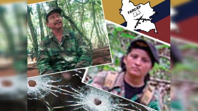 Mueren un jefe de FARC y su pareja
