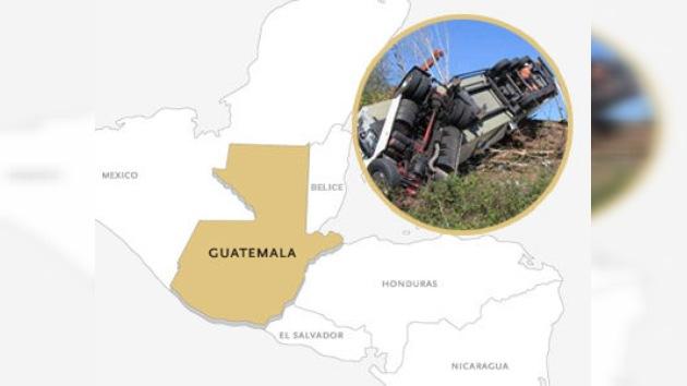 Al menos 19 muertos en un accidente de tránsito en Guatemala
