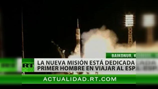 La nave espacial 'Gagarin' ha despegado rumbo a la EEI