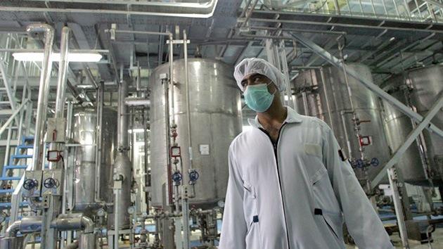 Irán intensifica la producción de uranio