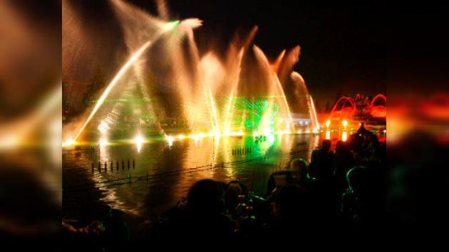 Inaugurada la temporada de funcionamiento de las 700 fuentes de Moscú