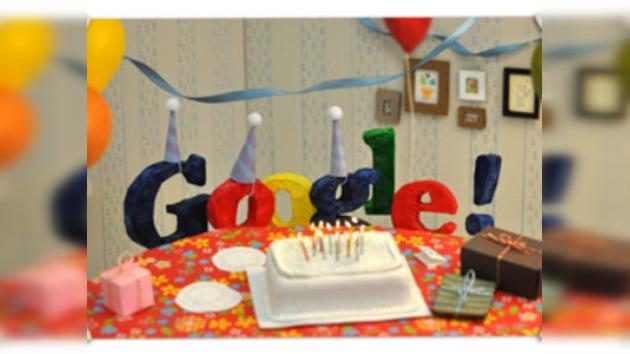 Google sopla 13 velitas en su cumpleaños