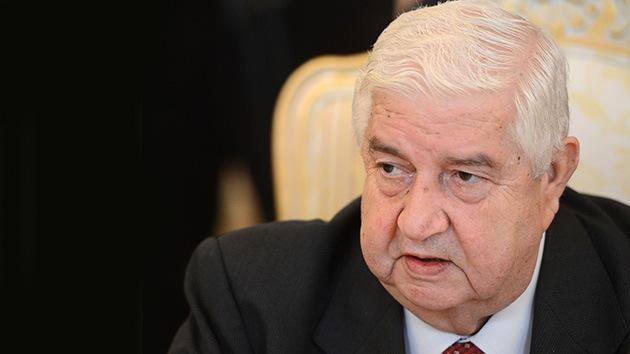 Siria está dispuesta a unirse a la Convención sobre la Prohibición de Armas Químicas