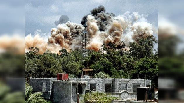 Un hijo de Gaddafi muere tras un ataque de la OTAN