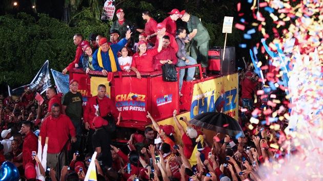 """Chávez, dispuesto a """"morir una y mil veces por los venezolanos"""""""