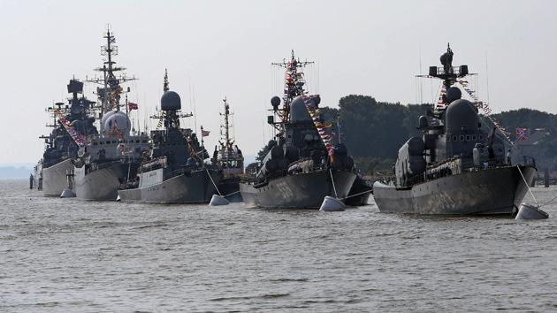 La Flota rusa del Báltico empieza maniobras en paralelo con los ejercicios de la OTAN