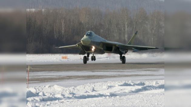El caza ruso de quinta generación realizó su primer vuelo