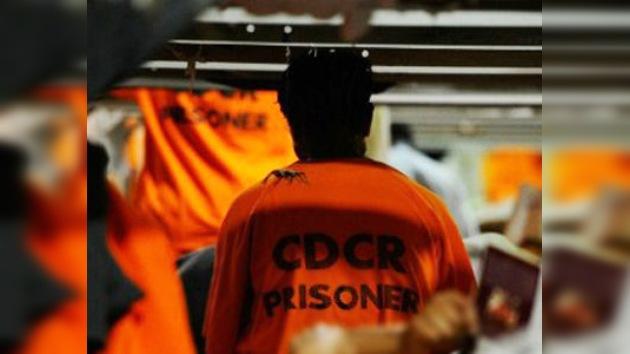 Más de 12.000 reos participan en una huelga de hambre en California