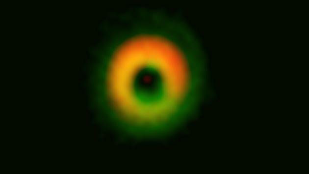 Video: En la constelación del Lobo se está formando un gigantesco sistema planetario
