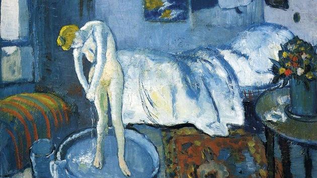 'La habitación azul' de Picasso esconde un secreto