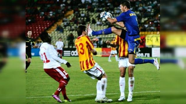 El FC Alania ruso vence al Áktobe kazajo y pasa a los 'playoff' de la Liga Europa