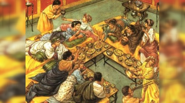 En Pompeya reabren comedor de hace dos mil años