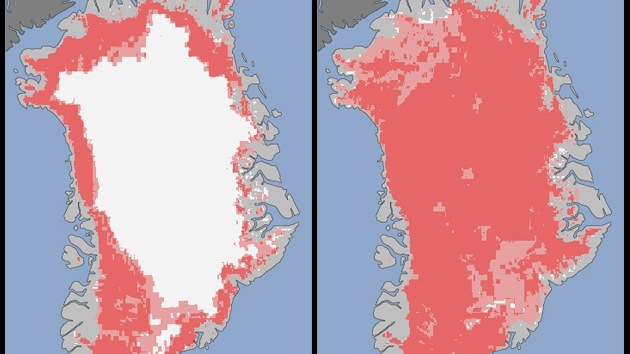 Deshielo récord en Groenlandia alerta a los científicos