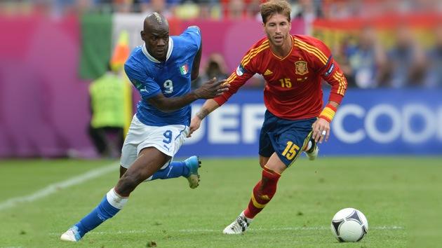 Eurocopa 2012: España e Italia empatan a un gol en su debut