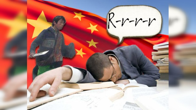 Un joven chino sentenciado condicionalmente por matar a su vecino roncador